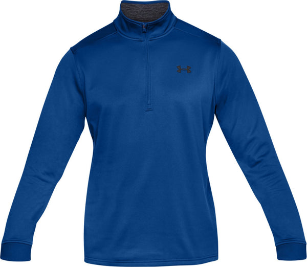 Under Armour Half Zip Mens Long Sleeve Golf Top - Blue 1320745-400
