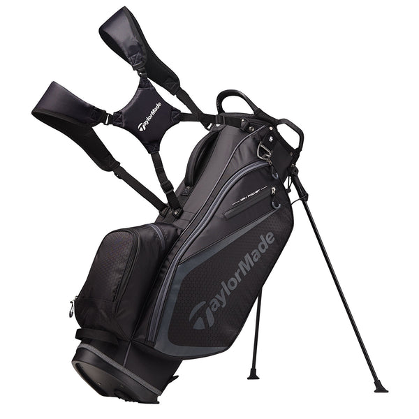 TAYLORMADE SELECT PLUS STAND BAG BLACK