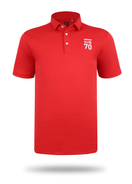 New 2019 SUB70 Tour Classic 2.0 Golf Polo Shirt Multi Stretch UPF 30+