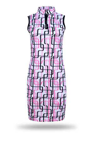 ELEVEN Ladies Golf Daisy-May Sleeveless Stretch Dress