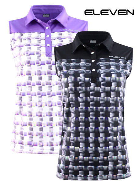 ELEVEN Ladies 2020 Golf Sleeveless Charlie  Polo
