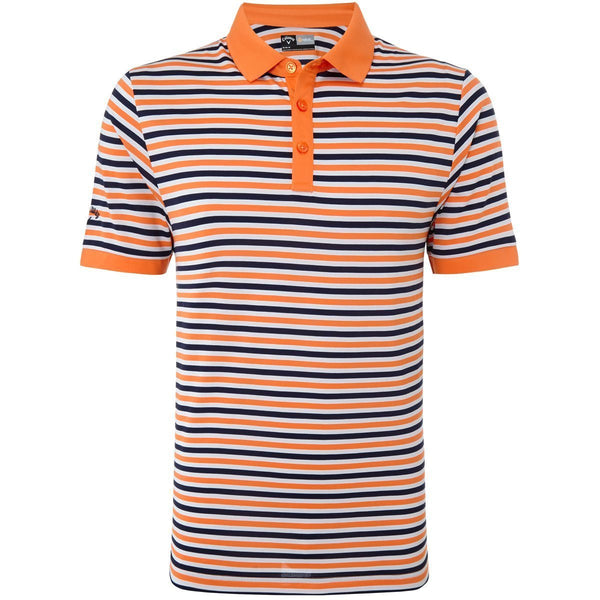 Callaway Core Stripe Golf Polo Shirt