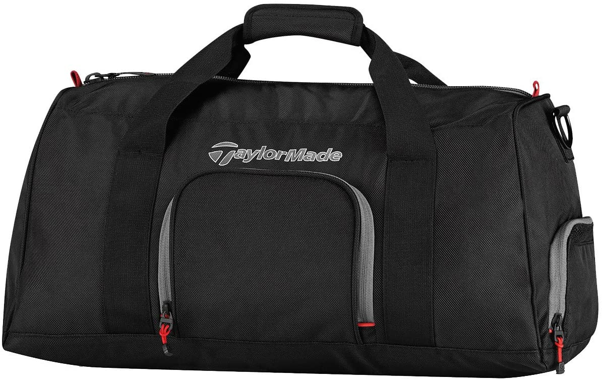 TaylorMade Golf Tour Players Travel Bag for Men Black