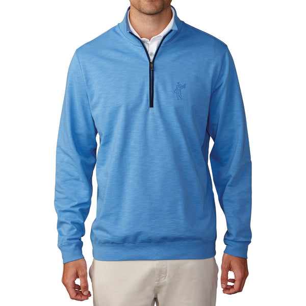 Ashworth Slub French Terry 1/4 Zip Golf Pullover