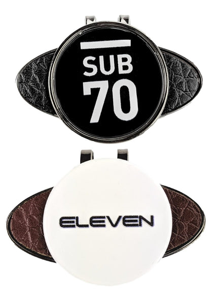 New Eleven Sub70 Golf Tour Hat Cap Clip With Magnetic Ball Marker