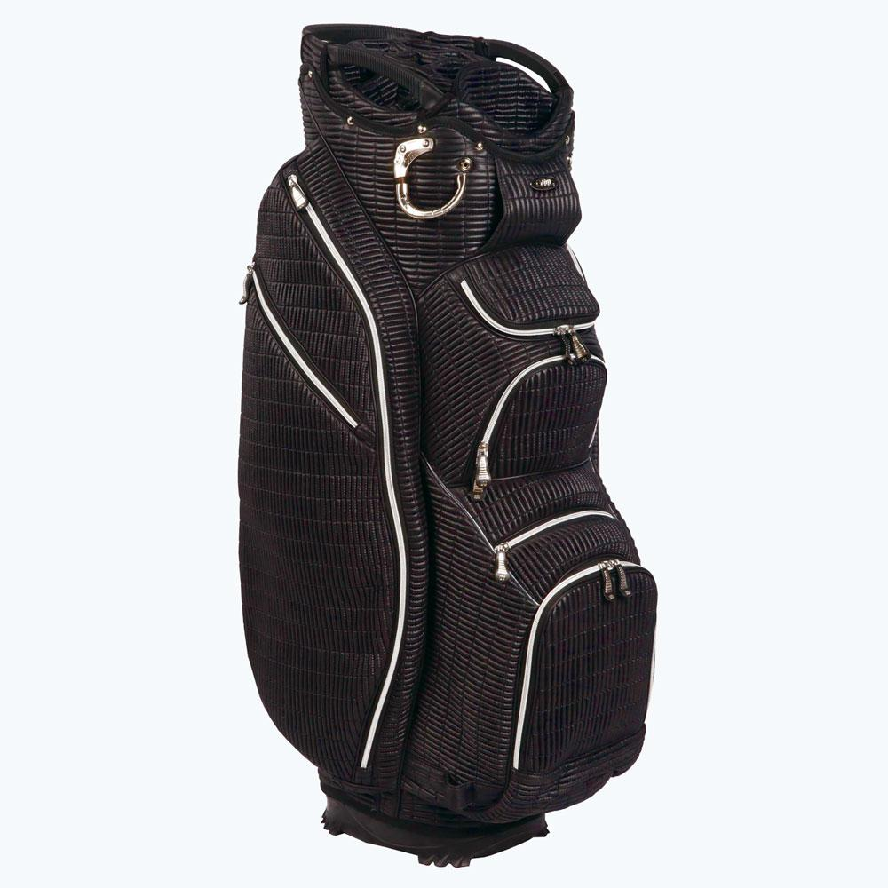 Ouul Ribbed 15 Way Cart Bag Black