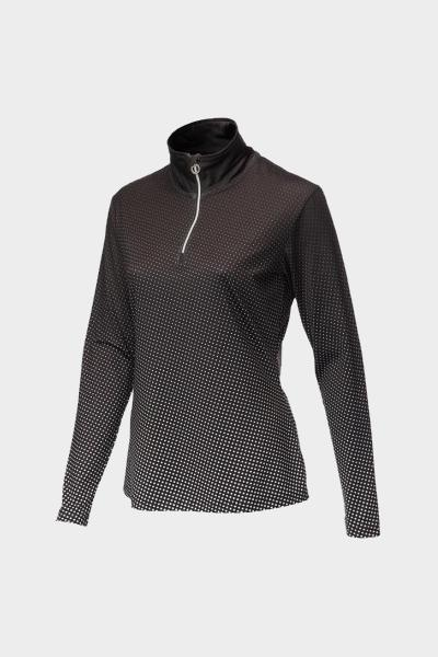 JRB Ladies Zip Collar Roll Neck