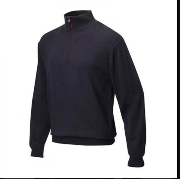 JRB Mens Lined Golf WIndstopper Sweater