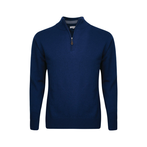 Calvin Klein Superwool Zip Neck Golf Sweaters