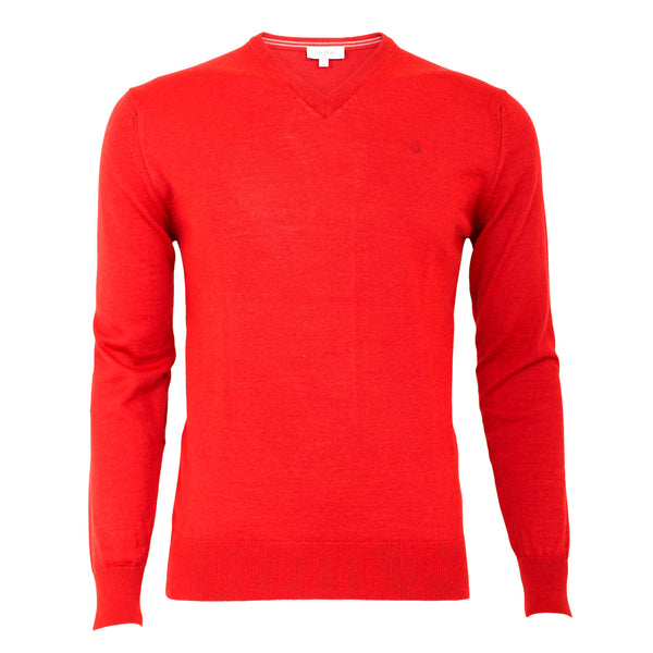 Calvin Klein Merino Wool Golf Sweater