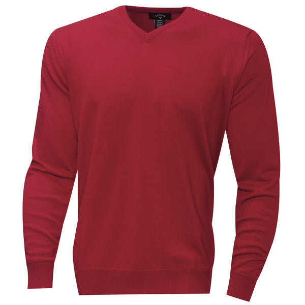 Callaway Merino Wool V-Neck Golf Sweater