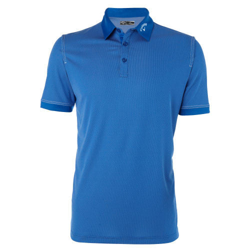 Callaway Hawkeye Jacquard Golf Polo Shirt
