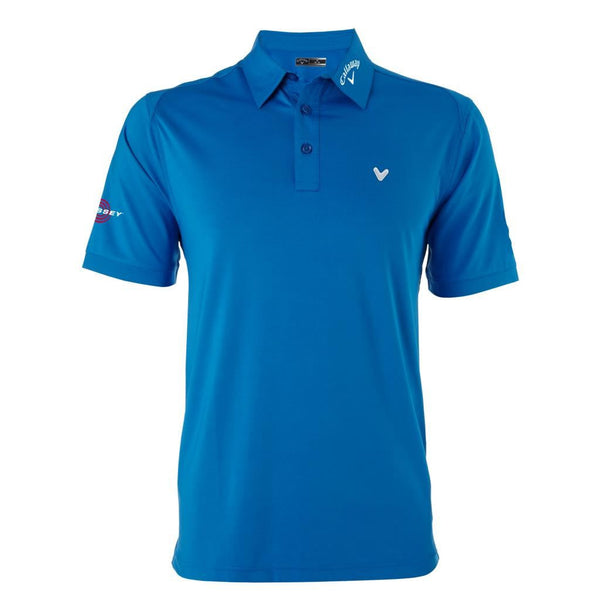 Callaway Opti Vent Solid Interlock Golf Polo