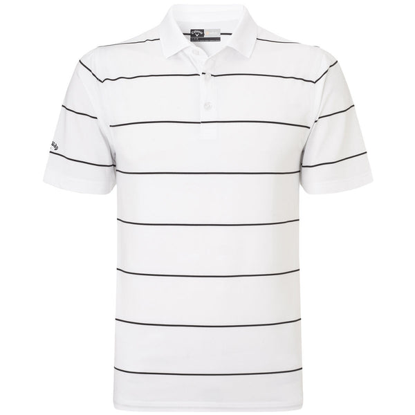 Callaway Chev Auto Stripe Golf Polo Shirt