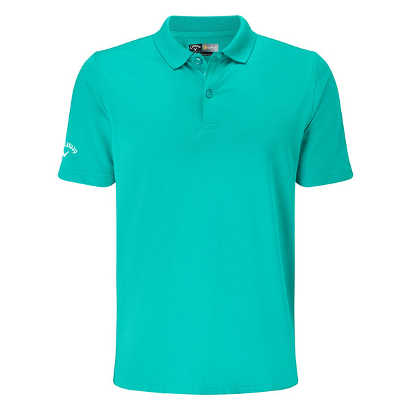 Callaway Opti Dri Chev Solid Golf Polo Shirt