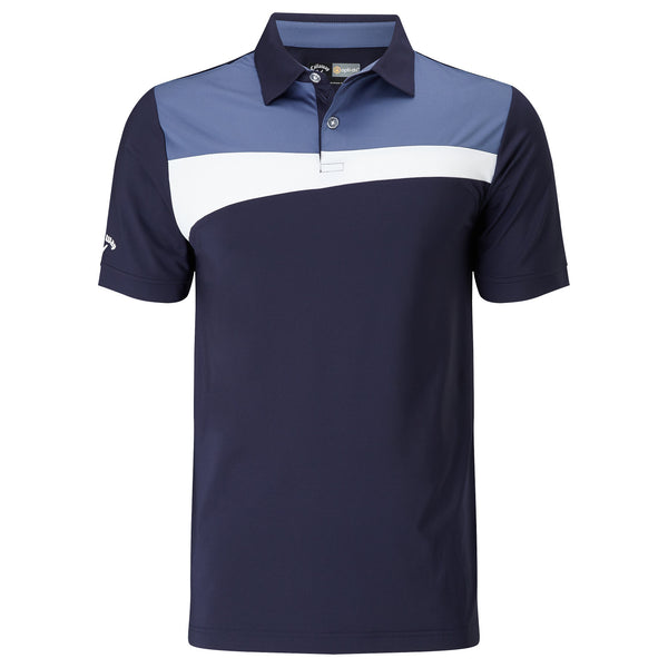 Callaway Asymmetrical Block Golf Polo Shirt