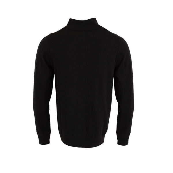 Calvin Klein Ribbed Lined Windstopper Golf Sweater