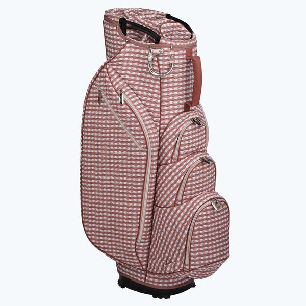 Ladies Ouul Check Wave 14 Way Cart Bag
