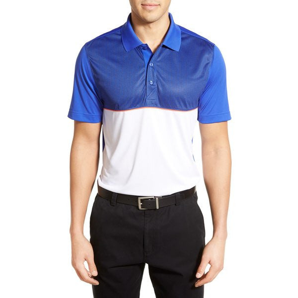 Cutter & Buck Repose Drytec Colourblock Golf Polo Shirt