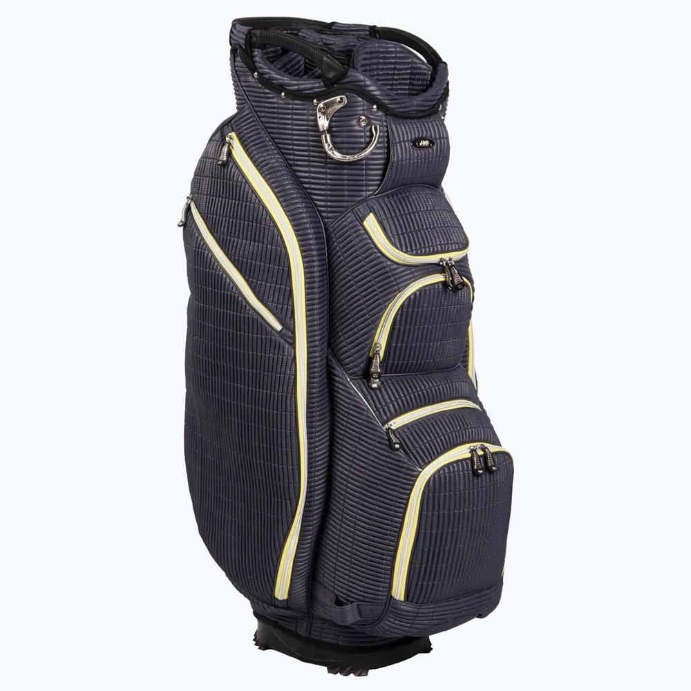 Ouul Ribbed 15 Way Cart Bag Dark Grey