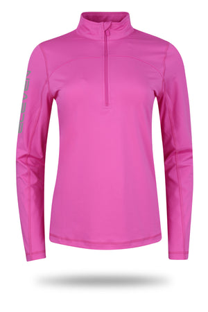 ELEVEN Ladies Golf Dayna Mid-Layer with Zip-Neck FREE HOLDALL