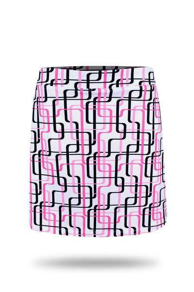 Eleven Ladies Golf Daisy-May Printed Skort