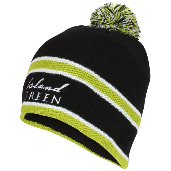 Island Green Knitted Bobble Hat 2019