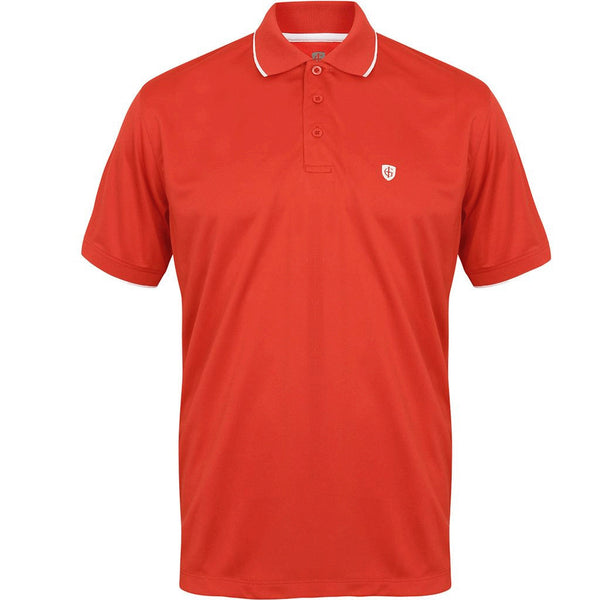 Island Green Coolpass Solid Mens Golf Polo Shirt IGTS1700