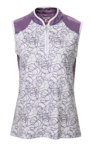 JRB Purple Twirl Ladies Golf Clothing