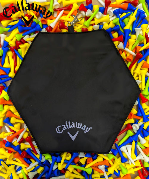 2019 Callaway Golf Lightweight accessory Pouch With 100 mixed tees,