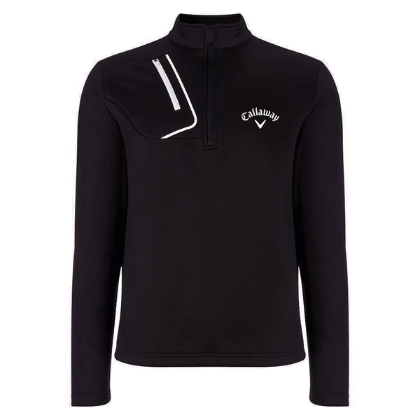 Callaway 1/4 Zip Thermal Golf Fleece Tour Logo