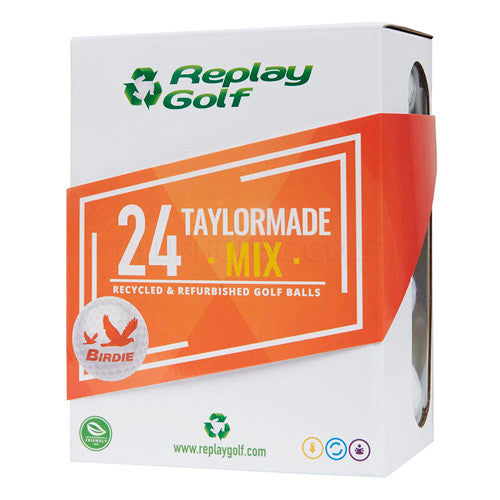 Replay Grade A Refinished Golf Balls Box Of 24