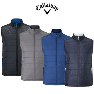 Callaway Mens Fibre Filled Fleece Vest CGRF7061