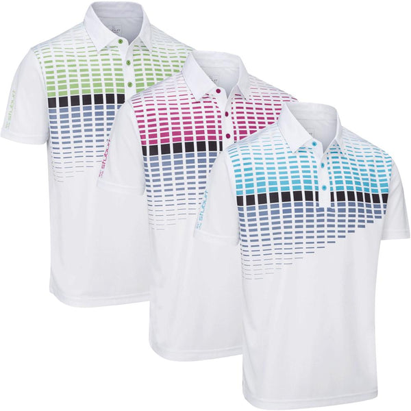 Stuburt Endurance Block Golf Polo Shirt