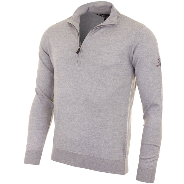 Sunice Wellington 1/4 Zip Merino Wool Golf Sweater