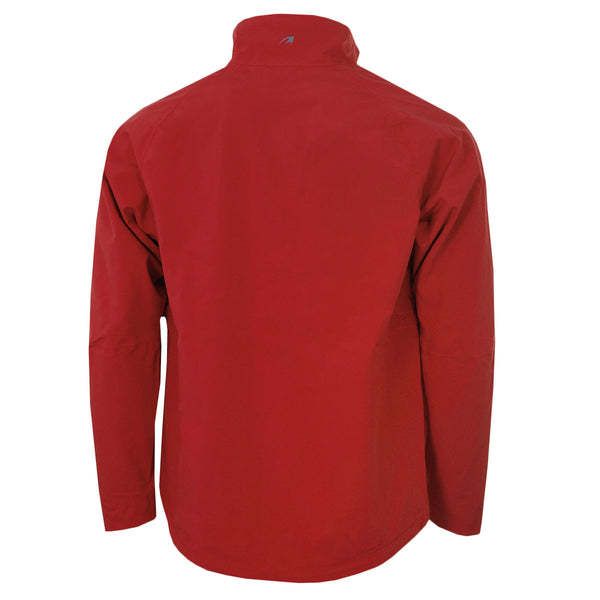 Benross Mens Golf Hydro Pro Breathable Waterproof Jacket Red