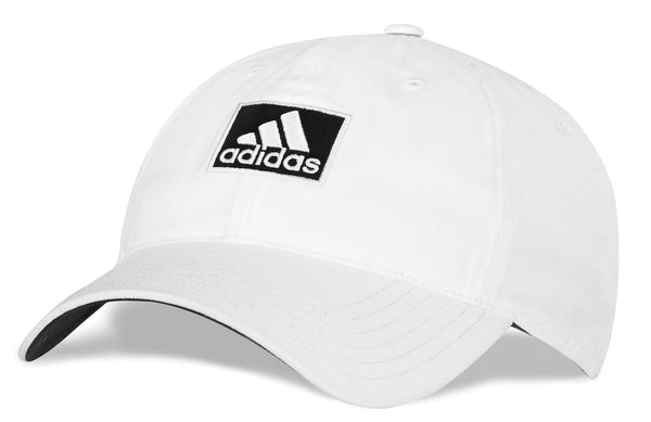 New Adidas Golf Sports Cap - Adjustable White-Black
