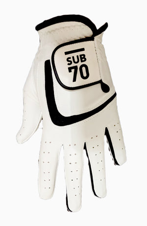 2020 Sub70 Tour All Weather Soft  Golf Gloves Pack Of 5 S-XXL White