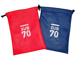 2019 Sub70 Soft Touch Valuables Bag - Pouch Red or Blue.