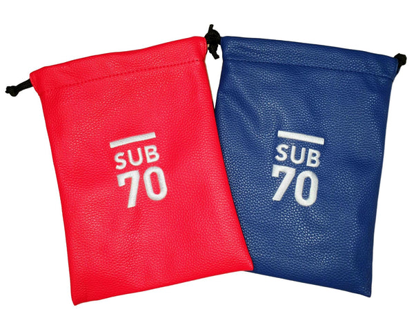 2019 Sub70 Soft Touch Valuables Bag - Pouch Red or Blue. Buy 1 Get 1 Free