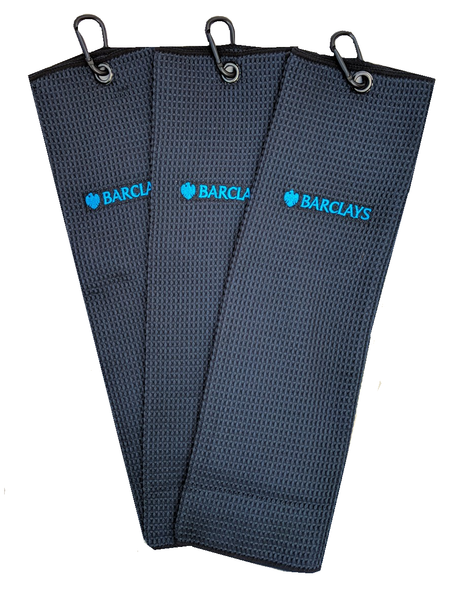Barclays Microfibre Bag Towel Pack of 3