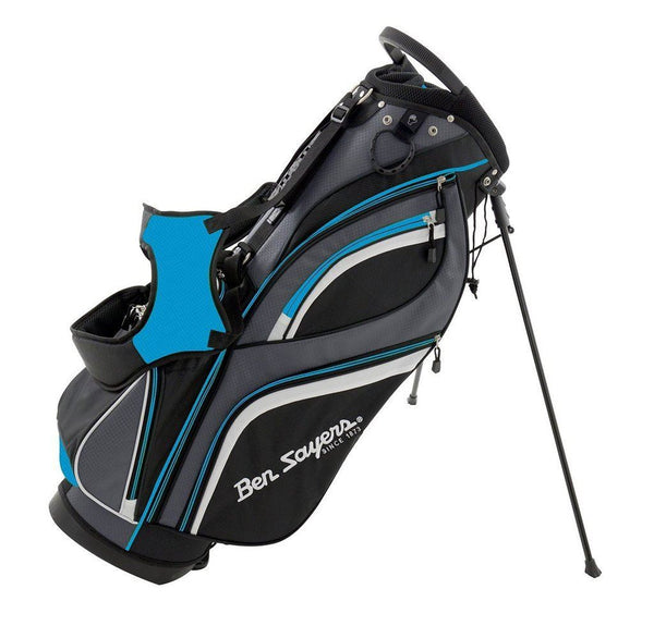 Ben Sayers Deluxe Golf Stand Bag New Model Blue
