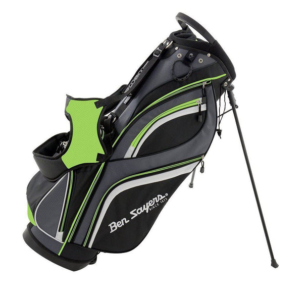 Ben Sayers Deluxe Golf Stand Bag New Model Green