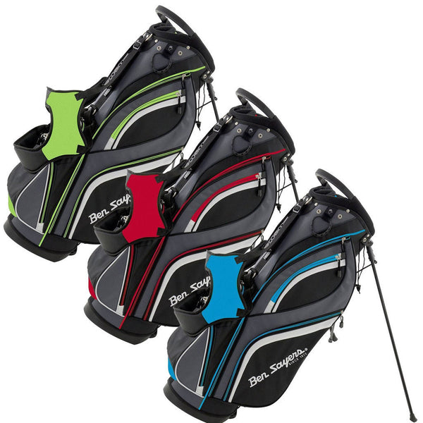 Ben Sayers Deluxe Golf Stand Bag New Model - 3 Colours