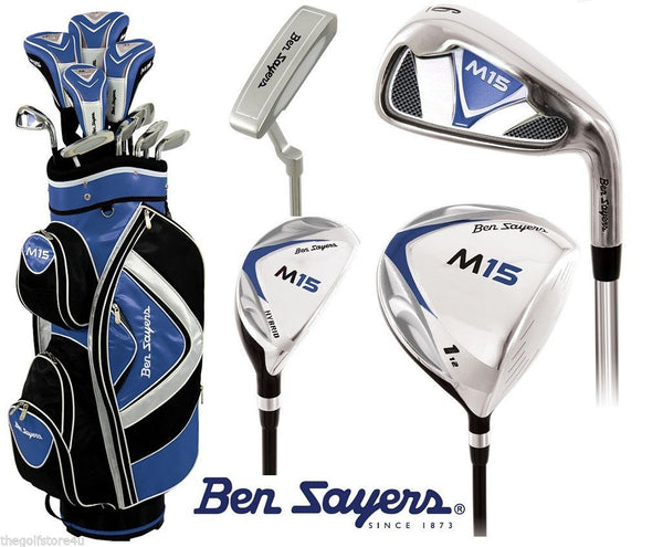 Ben Sayers M15 Complete Golf Set with Cart Bag - Right Hand Standard Length