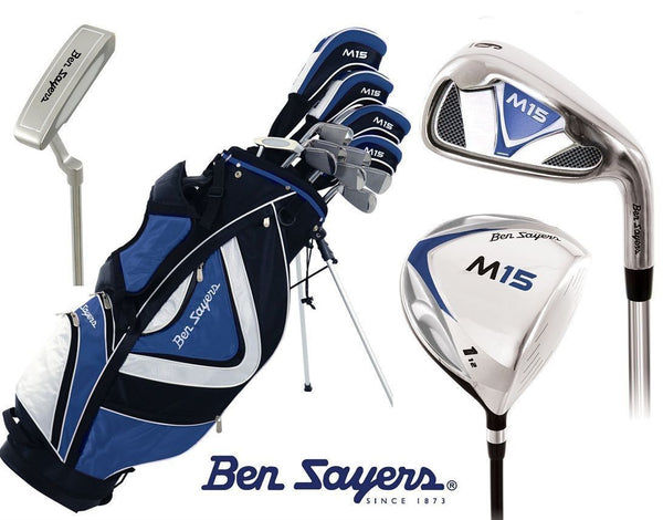 Ben Sayers M15 Complete Golf Set with Stand Bag - Right Hand Standard Length