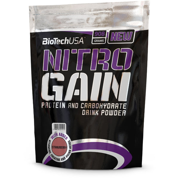Biotech Nitro Weight Gainer - 908G - 3 Colours