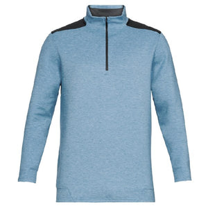 Under Armour Mens Storm Playoff Half Zip Pullover Blue
