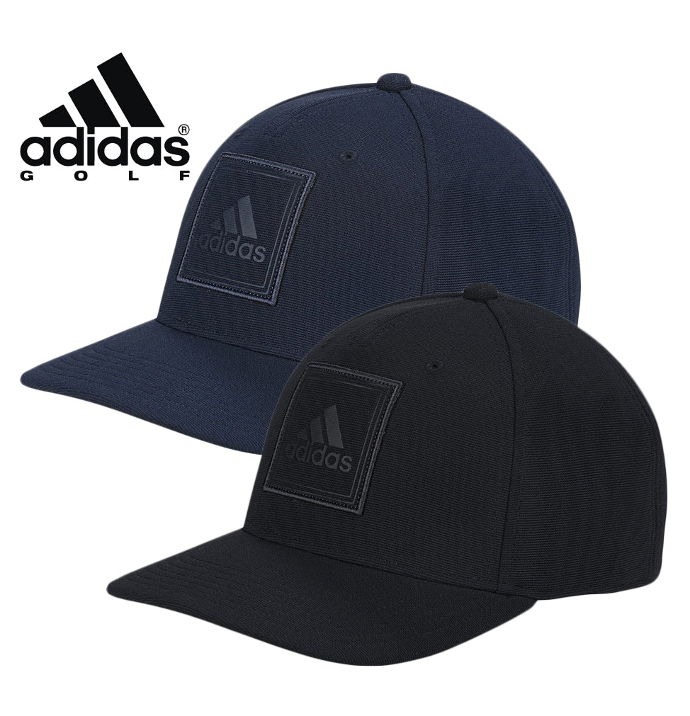 adidas Square Deboss Golf Cap One Size