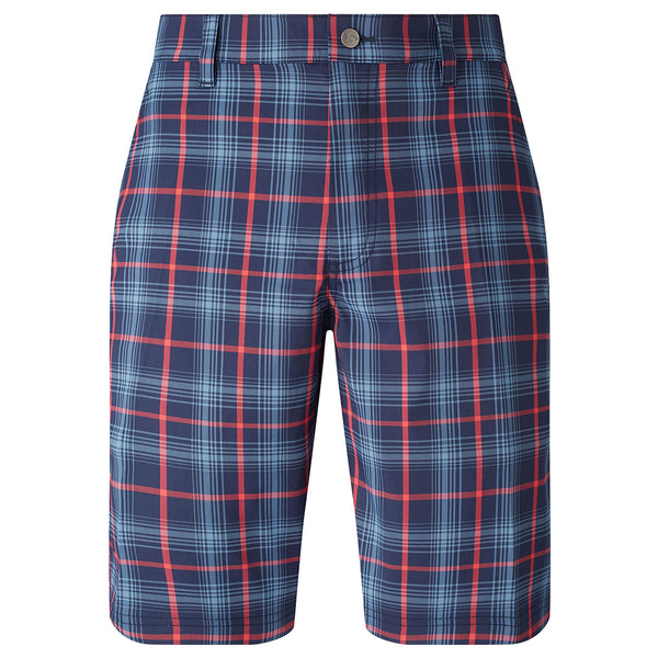 Callaway Fashion Technical Plaid Printed Golf Shorts CGBS7047